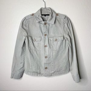 Marc Jacobs Sage Green Military Jacket